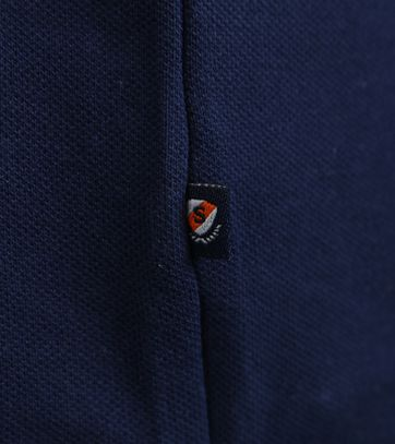 Detail Suitable Stretch Polo Navy