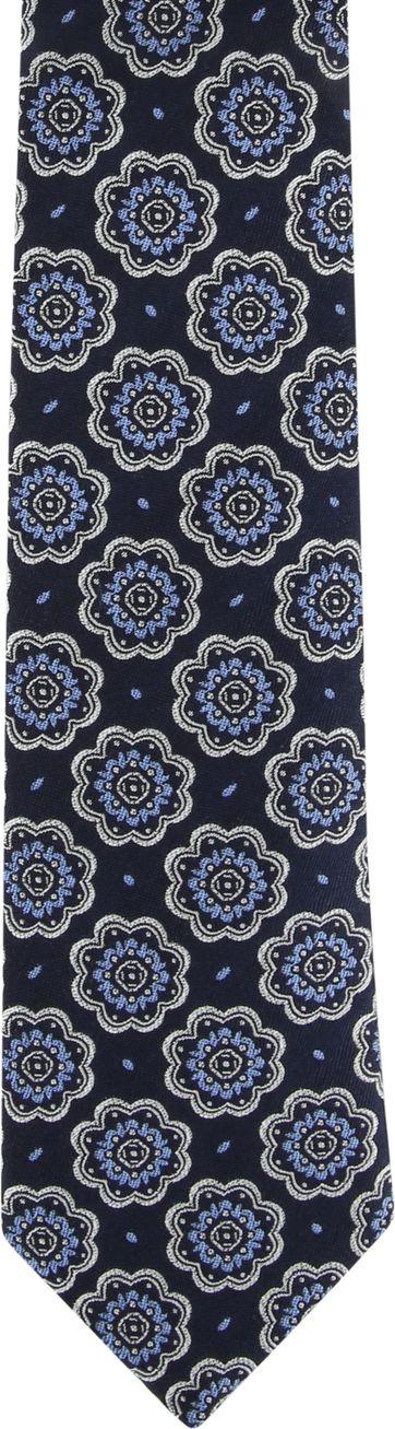 Suitable Stropdas Donkerblauw F01-06