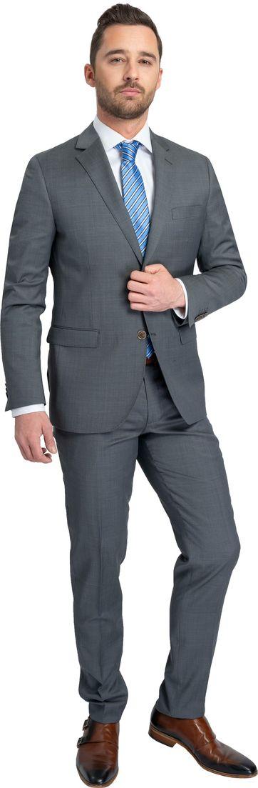 Suitable Suit Lucius Apasa Dark Grey