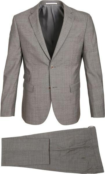 Suitable Suit Lucius Light Brown