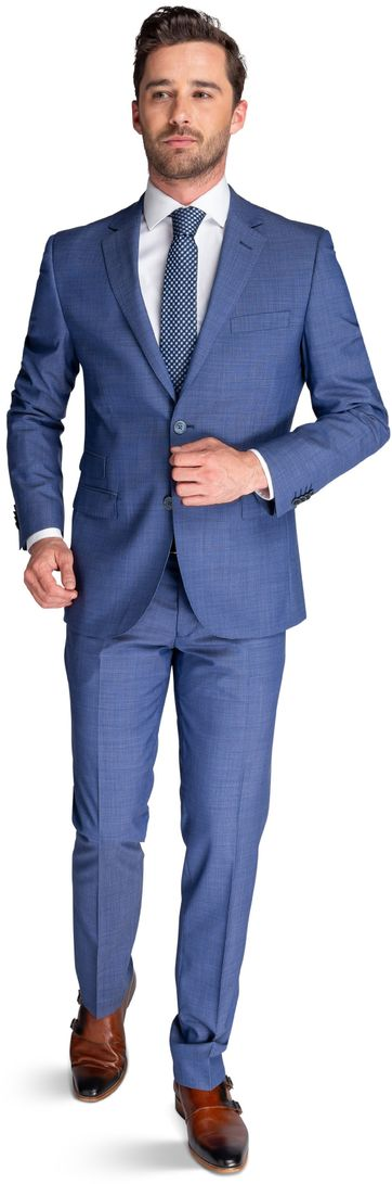 Suitable Suit Lucius Mid Blue