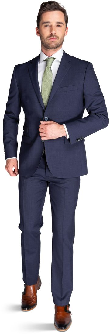 Suitable Suit Lucius Navy Struct