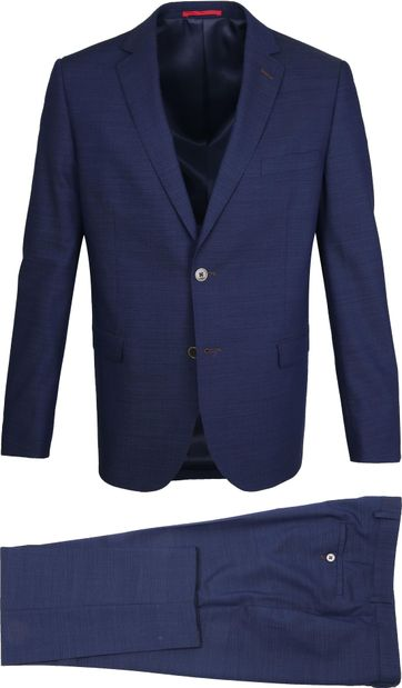 Suitable Suit Lucius Thebe Dark Blue