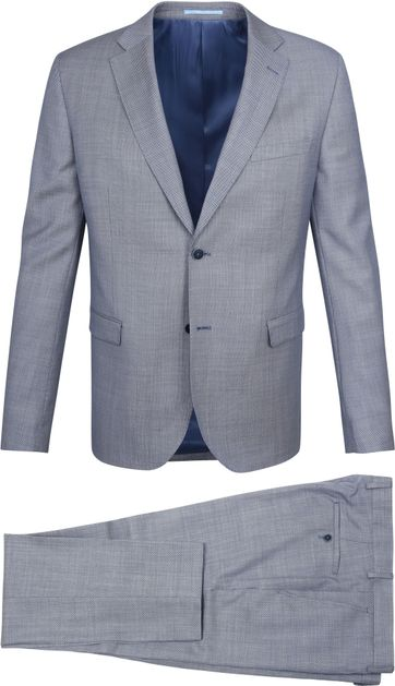 Suitable Suit Strato Karyes Navy