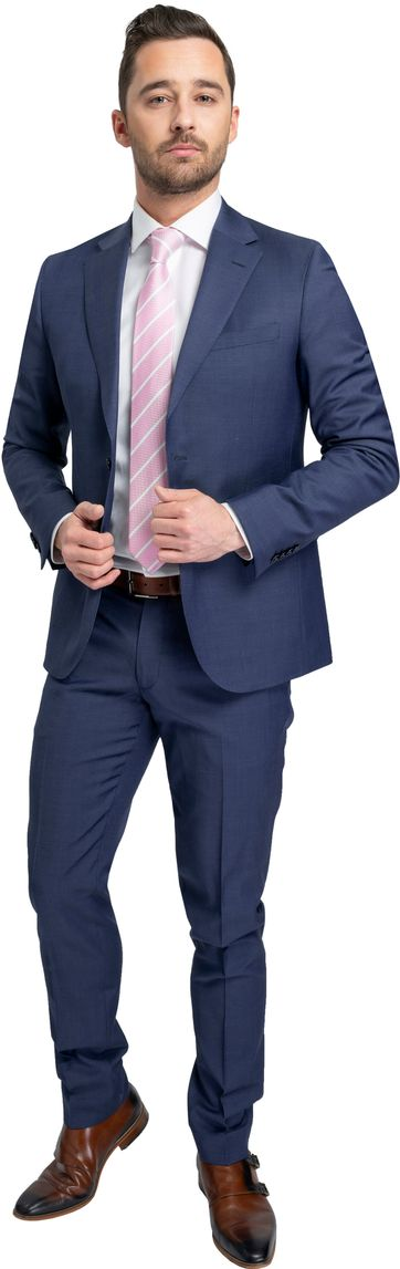 Suitable Suit Strato Puto Blue