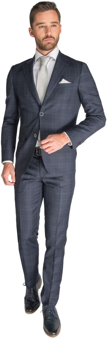 Suitable Suit Zurich Dark Blue