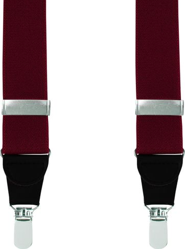 Suitable Suspenders Bordeaux Plain
