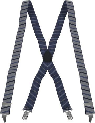 Suitable Suspenders Grey