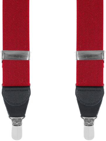 Suitable Suspenders Red