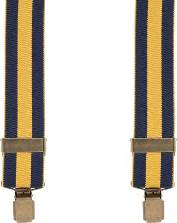 Suitable Suspenders Stripes Blue