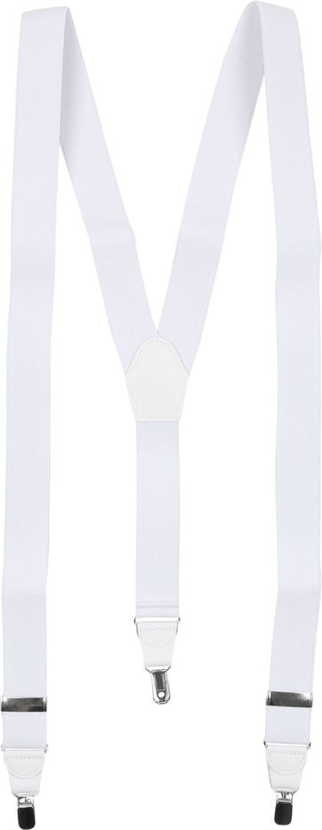 Suitable Suspenders White Plain