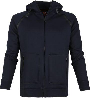 Suitable Sweat Jacket Siem Navy