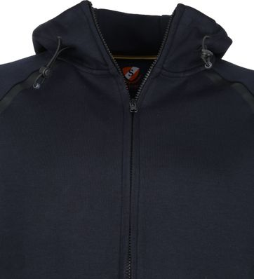 Suitable Sweat Jacket Siem Navy