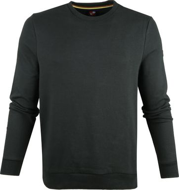 Suitable Sweater Sven Dark Green