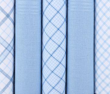Suitable Taschentücher Blau Kariert