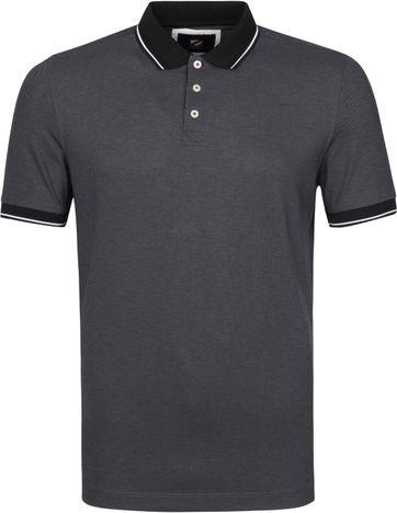Suitable Tech Polo Shirt Dark Grey