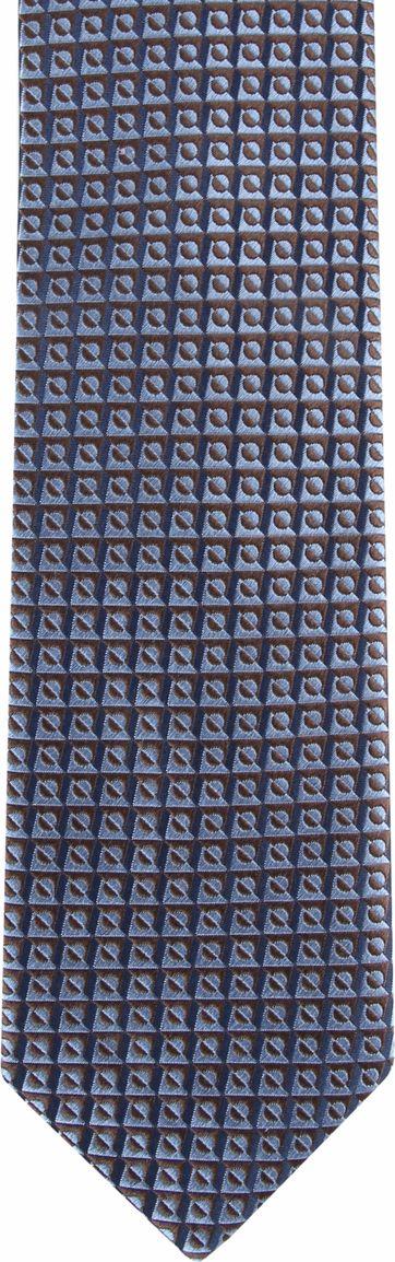 Suitable Tie Blocked Blauw