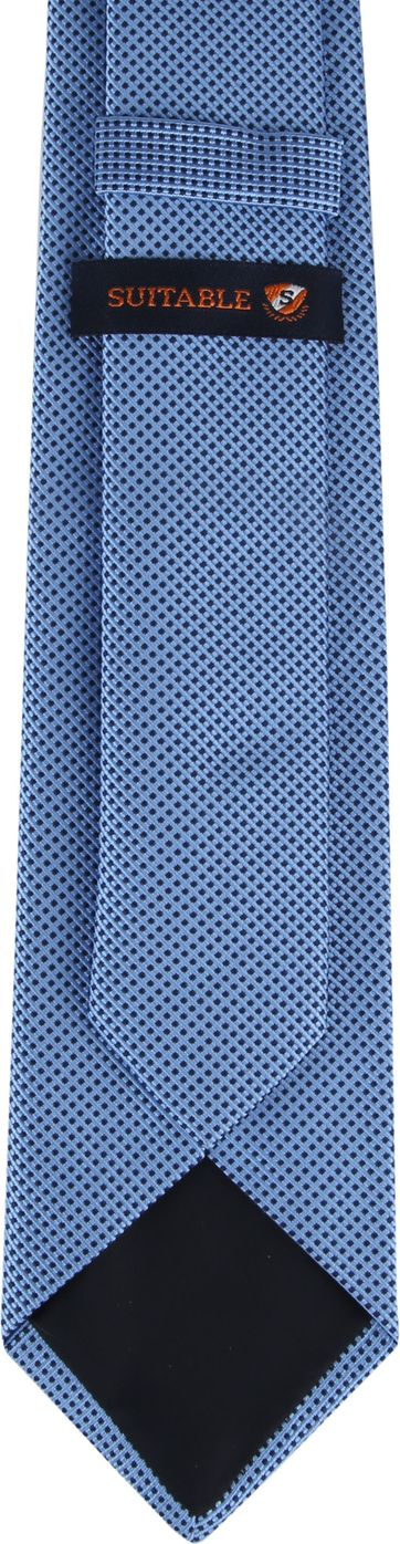Suitable Tie Blue F01-04