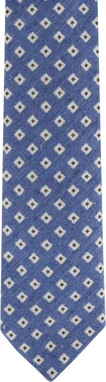 Suitable Tie Blue F01-17