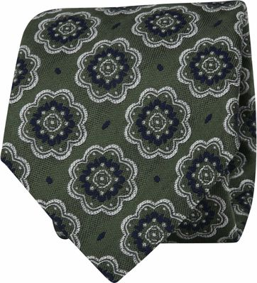 Suitable Tie Dark Green F01-10
