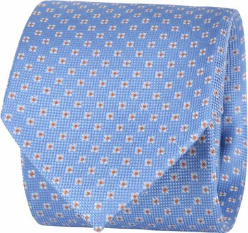 Suitable Tie Flower Light Blue