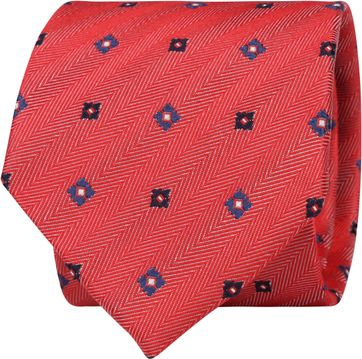 Suitable Tie Light Red F01-34