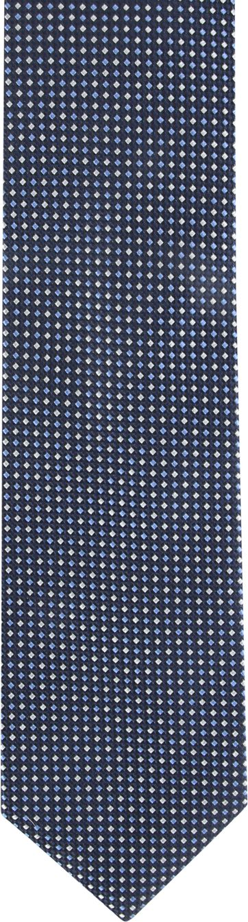 Suitable Tie Navy Printed