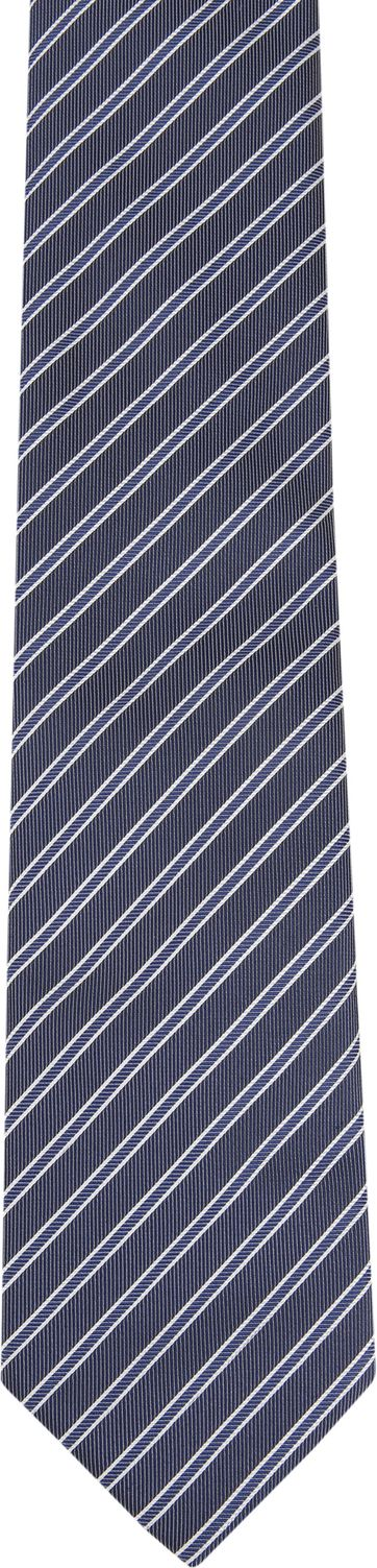 Suitable Tie Progetto Stripe Navy