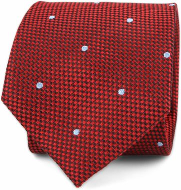 Suitable Tie Red F82-7