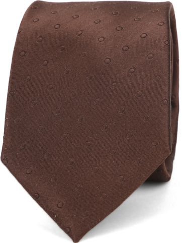 Suitable Tie Side Brown K91-11