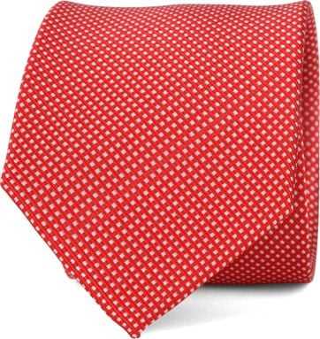Suitable Tie Side Red F91-6