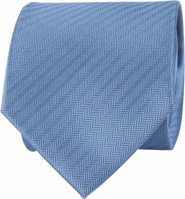 Suitable Tie Silk Light Blue