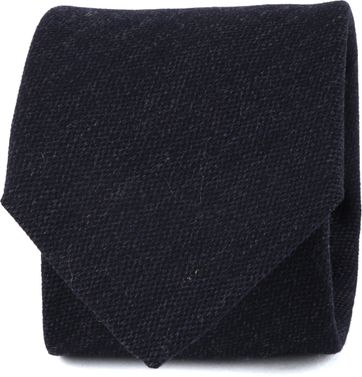 Suitable Tie Silk Navy