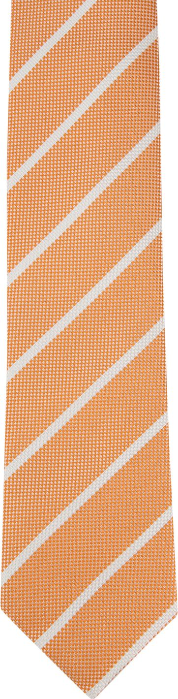 Suitable Tie Stripe Orange