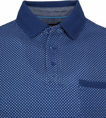 Suitable Till Polo Dessin Blauw