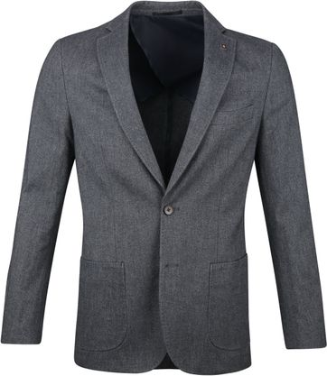Suitable Travis Blazer Dark Grey