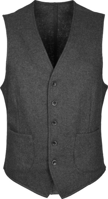 Suitable Travis Gilet Easky Grey