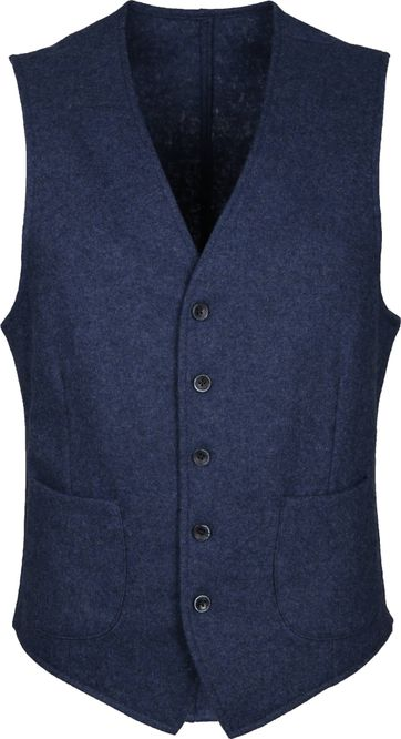 Suitable Travis Waistcoat Easky Indigo