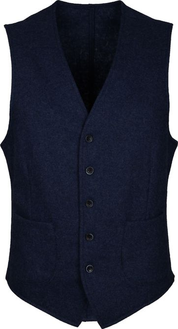 Suitable Travis Waistcoat Easky Navy