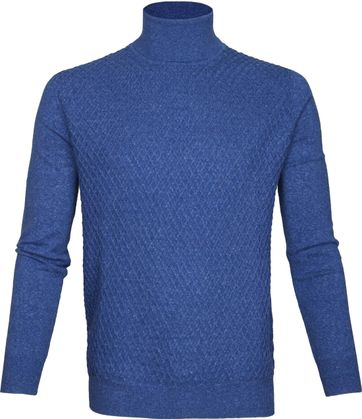 Suitable Turtleneck Diamond Blue