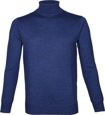 Suitable Turtleneck Niels Merino Blue