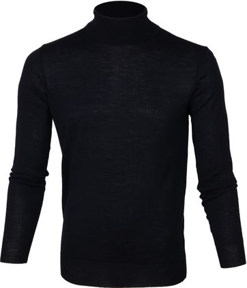 Suitable Turtleneck Pull Darkblue