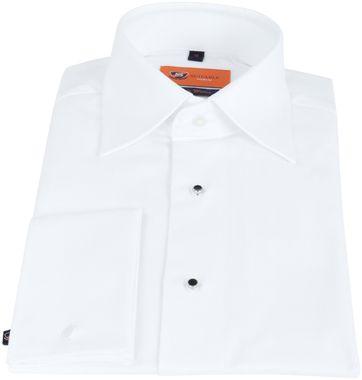 Suitable Tuxedo Shirt Slim-Fit White