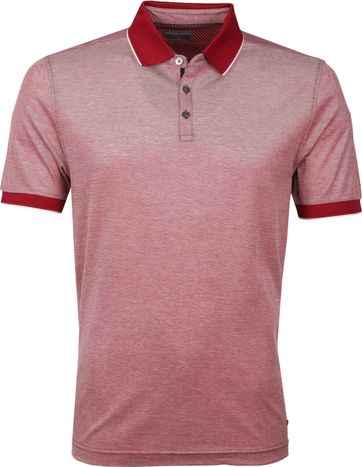 Suitable Tyler Poloshirt Burgundy
