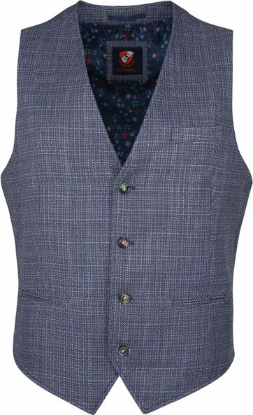 Suitable Vero Waistcoat Navy