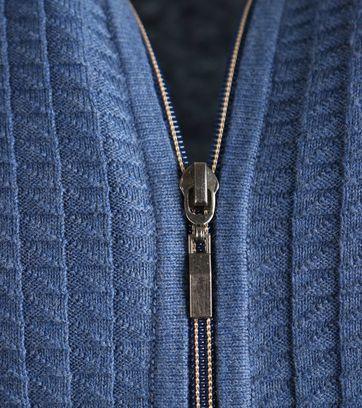 Detail Suitable Vest 3D Blauw