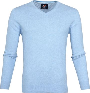 Suitable Vince Pullover Hellblau