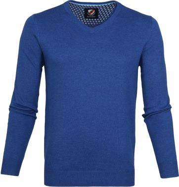 Suitable Vince Pullover Kobalt
