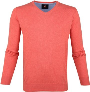 Suitable Vince Pullover Koraal
