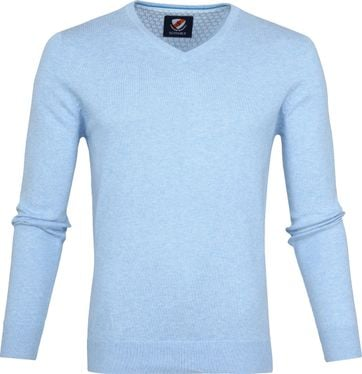 Suitable Vince Pullover Light Blue